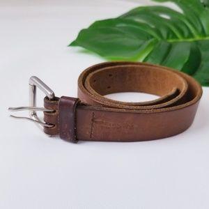 Levi's Boys Small Genuine Leather Belt EUC!